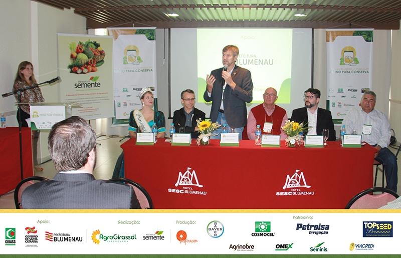 1º Fórum Brasileiro de Pepinos para Conserva